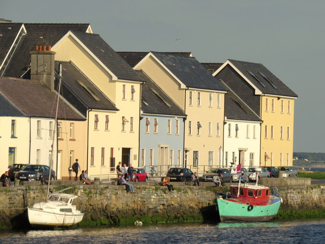 Riverfront in Galway