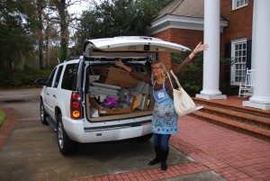Moving away from home into the studio...positive thinking and lots of heavy lifting!