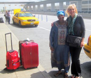 Rebecca Zdybel and her NYC Cabbie and Mentor
