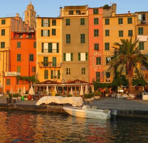 Portovenere in warm morning light- ©Rebecca Zdybel